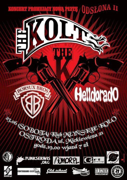 2007.06.23 THE KOLT /BORSUX BROS. /HELLDORADO