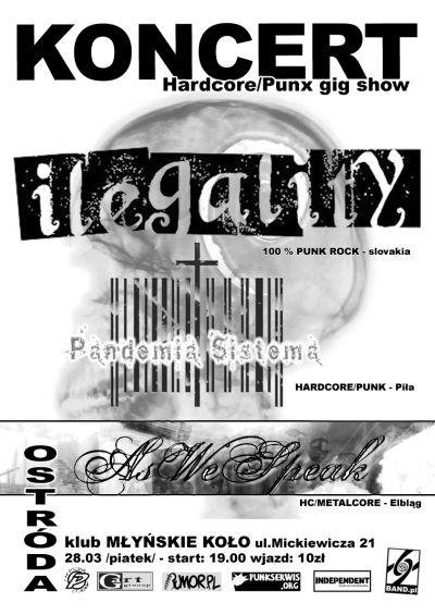 2008.03.28 ILLEGALITY [slo] /PANDEMIA SISTEMA /AS WE SPEAK