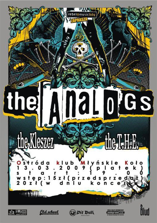 2009.03.13 THE ANALOGS /THE KLESZCZ /THE T.H.E