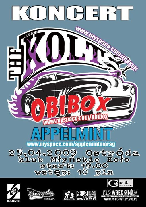 2009.04.25 THE KOLT /OBIBOX /APPLEMINT