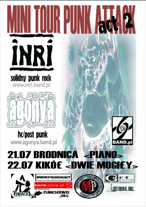 MINI TOUR PUNK ATTACK INRI /AGONYA