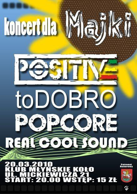 2010.03.20 POSITIVE / TO DOBRO / POPCORE / REAL COOL SOUND