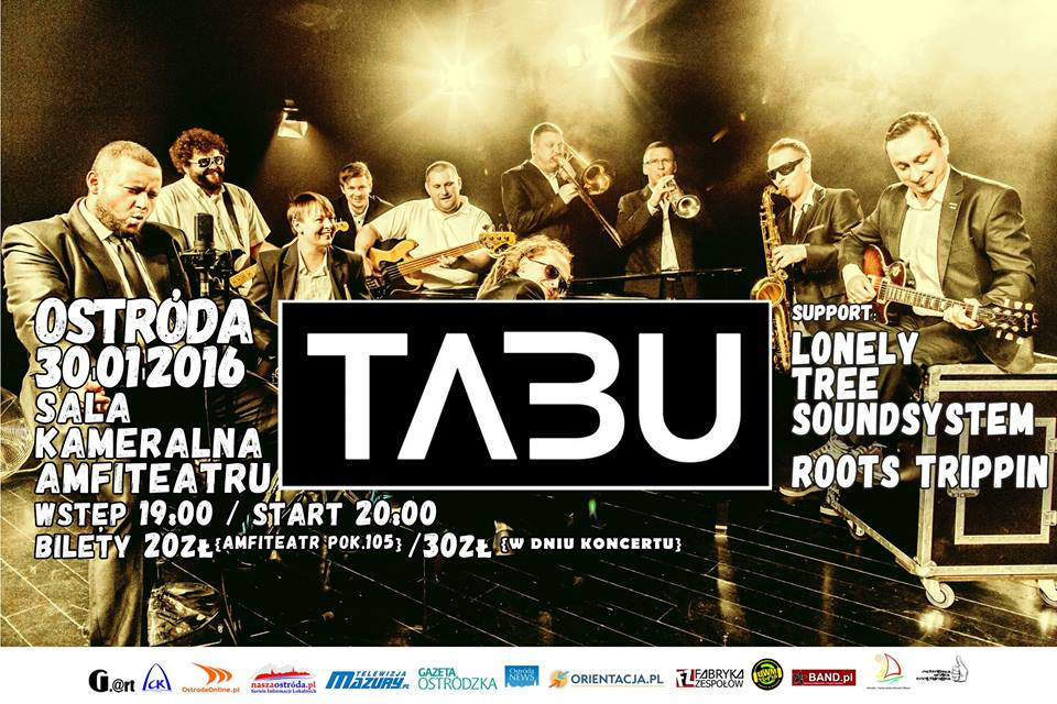 30.01.2016 TABU/LONELY TREE SOUNDSYSTEM/ROOTS TRIPPIN
