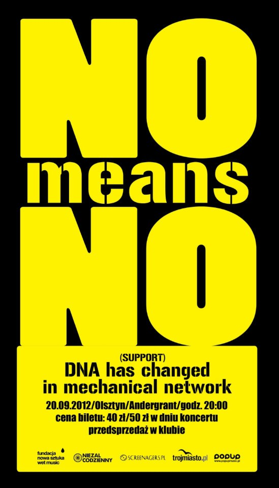20.09.2012 NO MEANS NO /DNA
