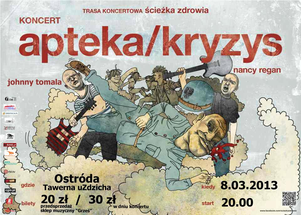 8.03.2013 APTEKA/KRYZYS/NANCY REGAN/JOHNNY TOMALA