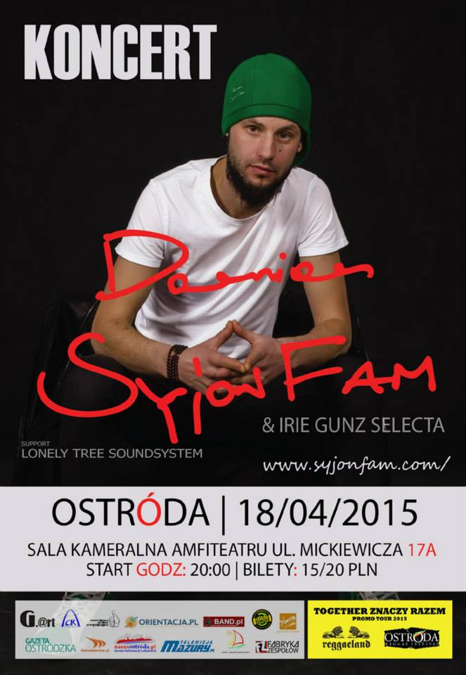 18.04.2015 DAMIAN SYJONFAM/LONELY TREE SOUNDSYSTEM